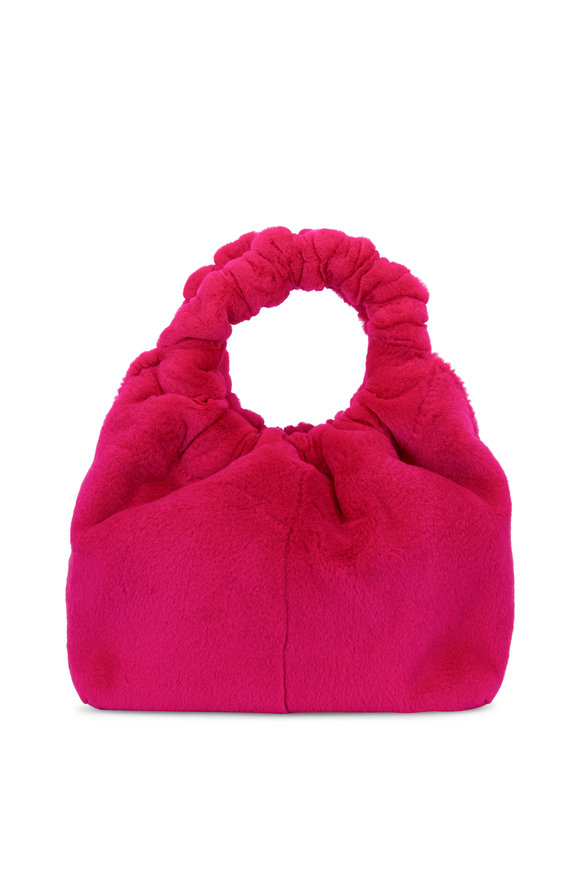 The Row Double Circle Light Purple Mink Small Bag