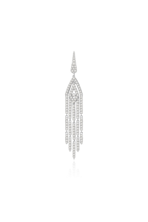 Sutra 18K White Gold Diamond Pendant