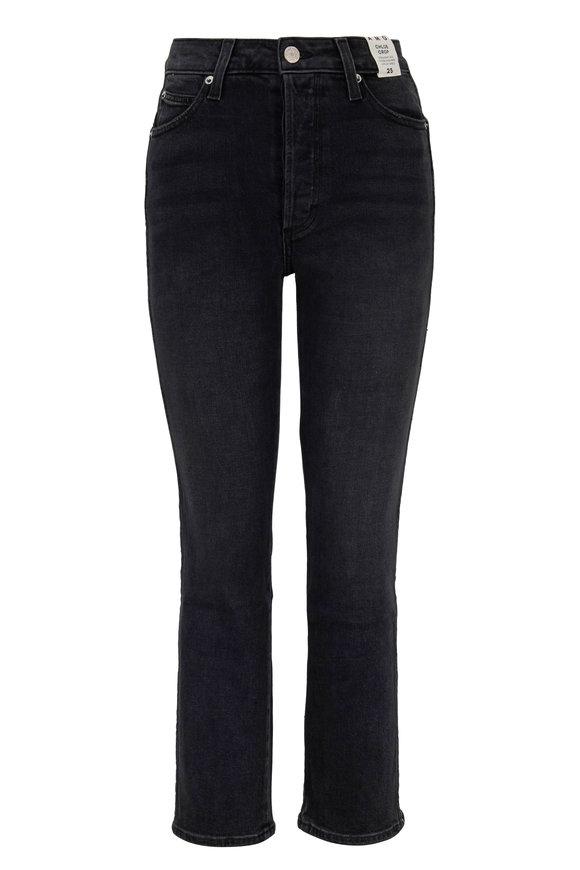 Amo Chloe Black Ultra High-Rise Ankle Jean
