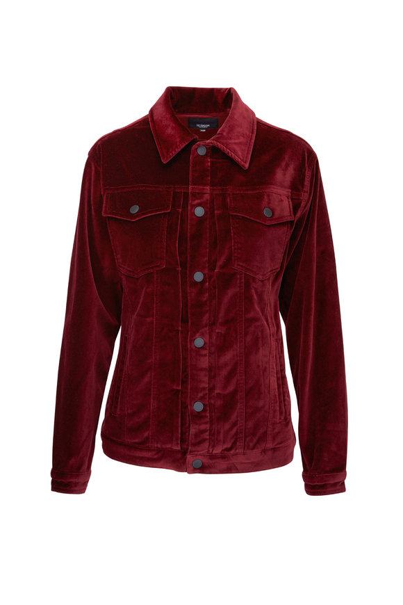 Hudson Clothing Trucker Port Velvet Jacket