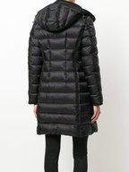 Moncler - Hermine Giubbotto Black Long Puffer Coat