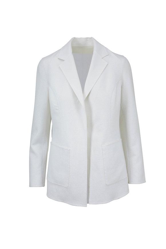 Rani Arabella White Wool & Lurex Jacket