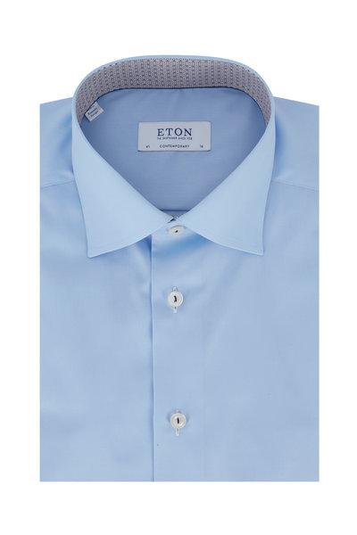 Eton - Light Blue Contemporary Fit Dress Shirt