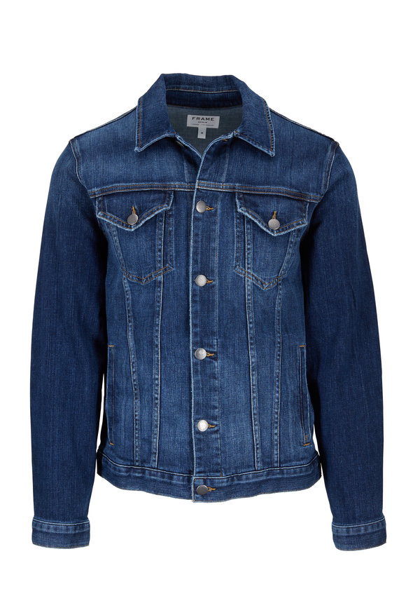Frame Presido Medium Wash Denim Jacket