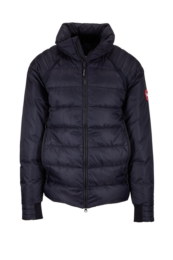 Canada Goose HyBridge Base Navy Down Jacket
