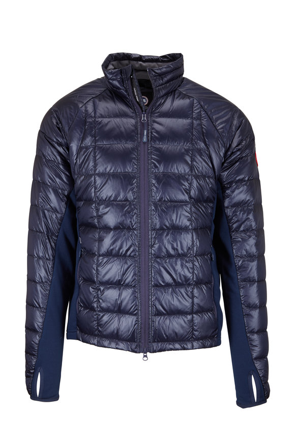 Hybridge Lite Navy Down Jacket