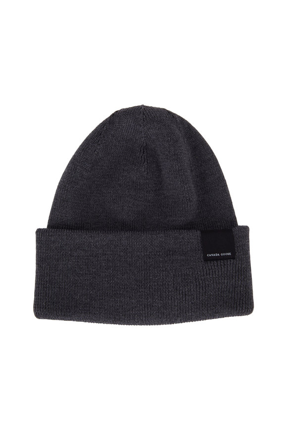 Canada Goose Classic Gray Wool Hat