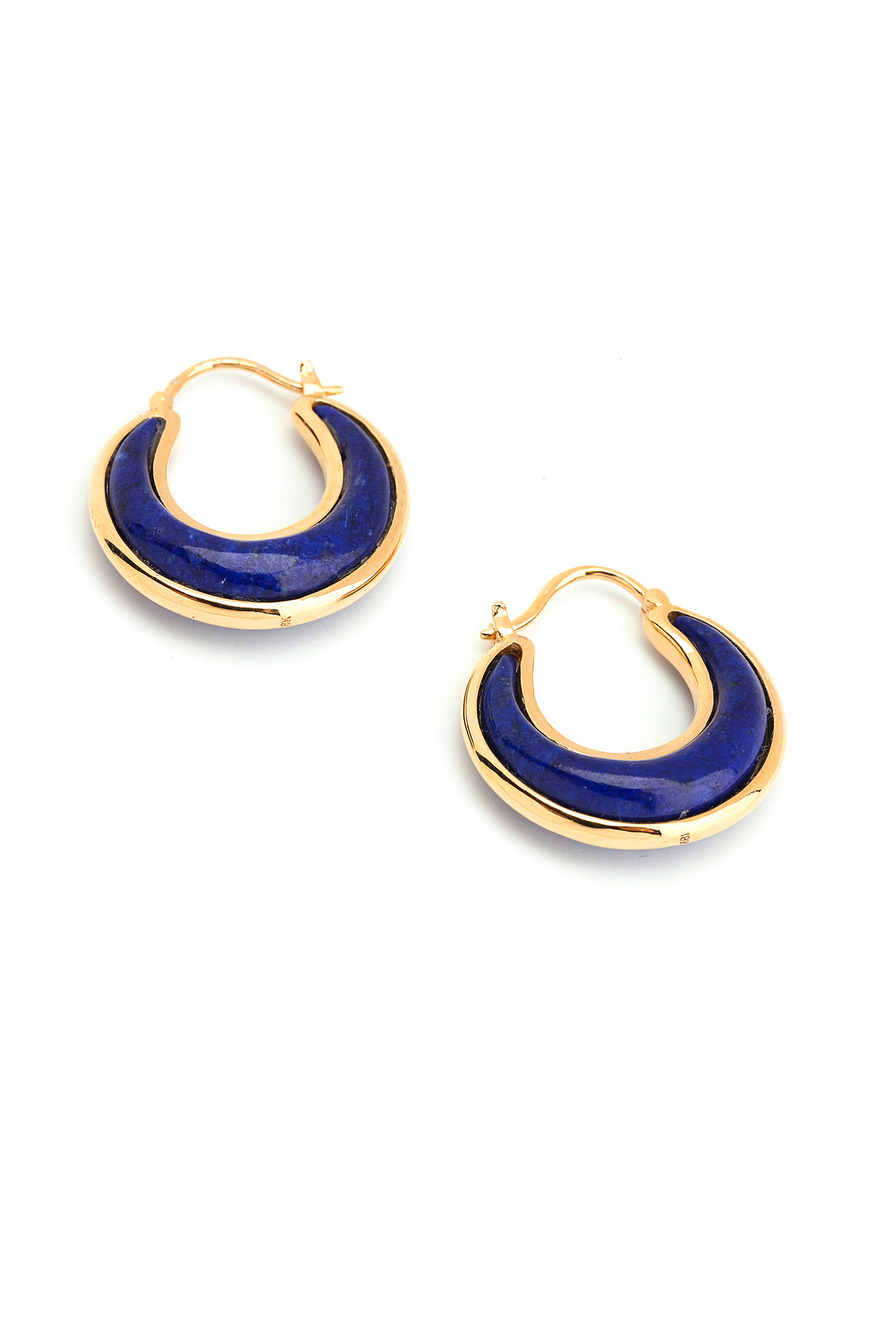 Luna Lapiz Lazuli Earrings