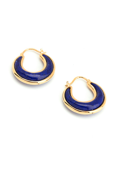 Syna - Luna Lapiz Lazuli Earrings
