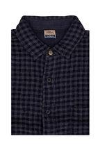Faherty Brand - Belmar Navy & Gray Check Reversible Shirt