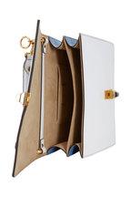 Fendi - Kan I Multi Leather Logo Small Shoulder Bag