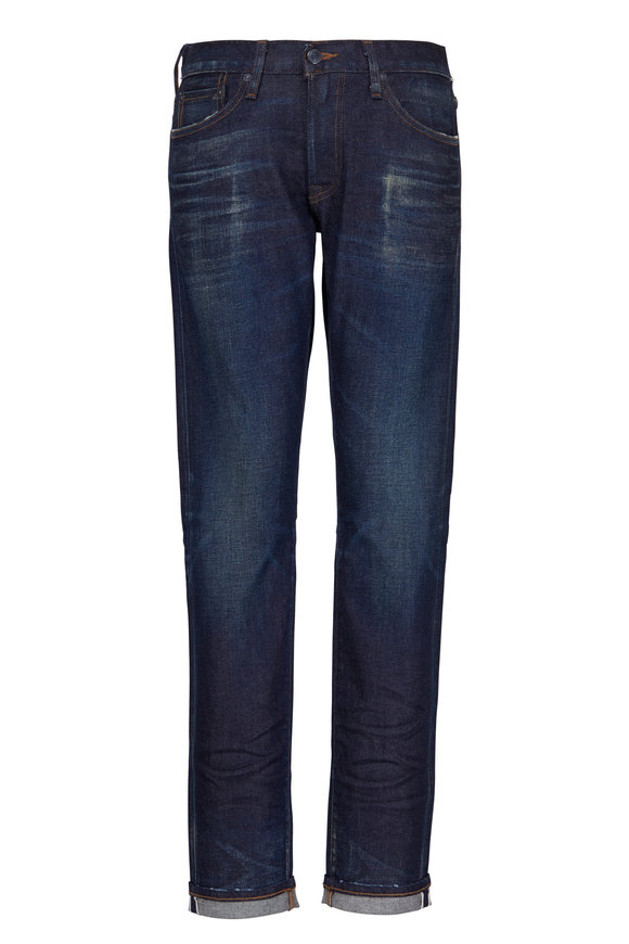 S.M.N. Hunter Slim Straight Selvedge Jean