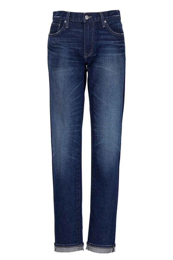 S.M.N. Finn Tapered Slim Selvedge Hem Jean