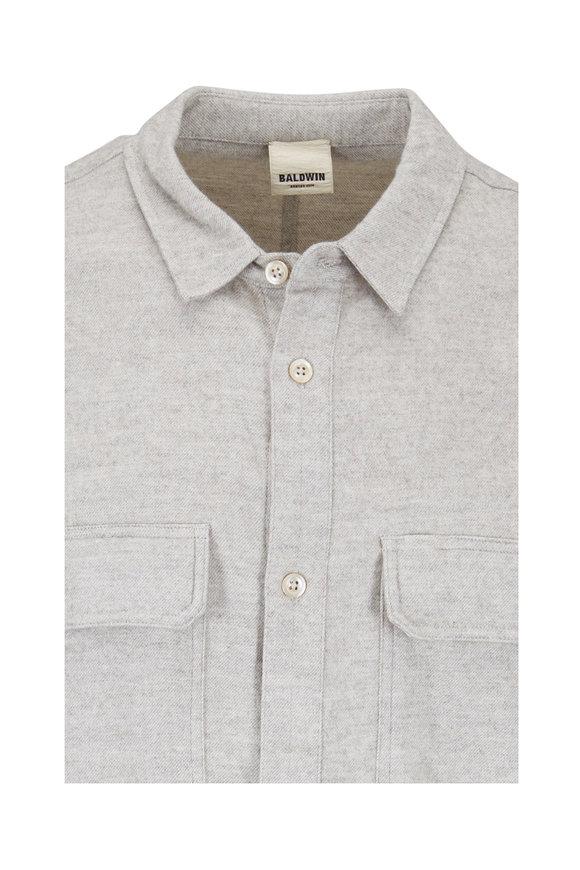 Baldwin August Natural Cotton & Yak Wool Shirt