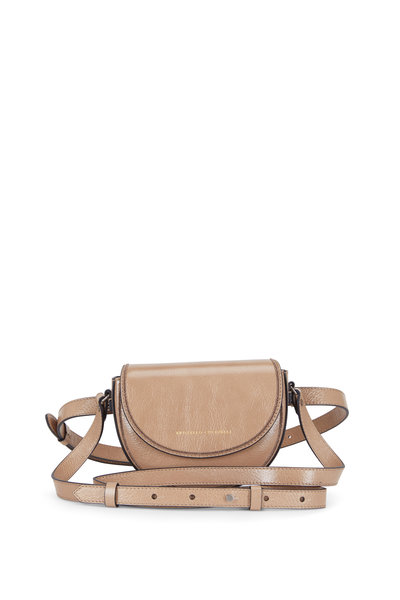 Brunello Cucinelli - Exclusive Beige Leather Small Convertible Bag