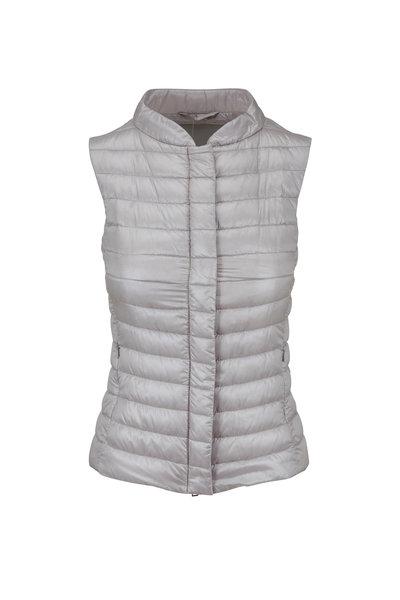 Herno - Basic Silver Puffer Vest