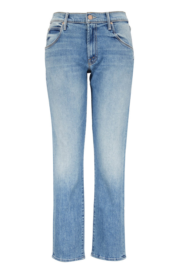 Mother Denim The Ditcher Light Wash Ankle Jean