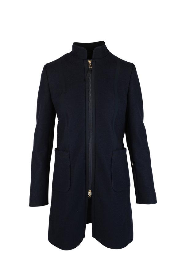 Bogner Darcie Navy Blue Wool Jacket