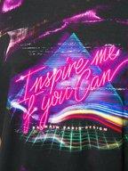 Balmain - Black & Pink Inspire Me If You Can Graphic T-Shirt