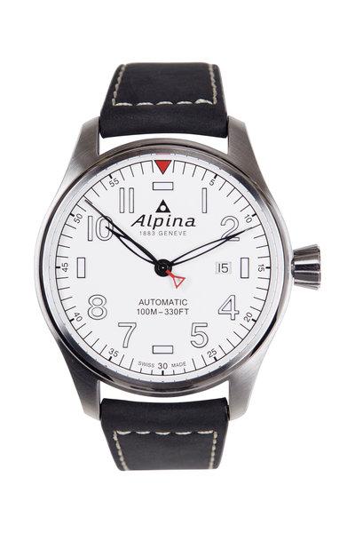 Alpina - Startimer Pilot Automatic White Face, 44MM