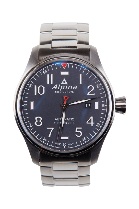 Alpina Startimer Blue Pilot Automatic, 44MM