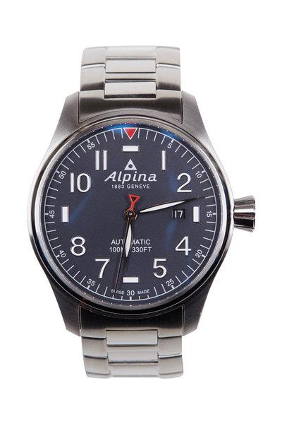 Alpina - Startimer Blue Pilot Automatic, 44MM
