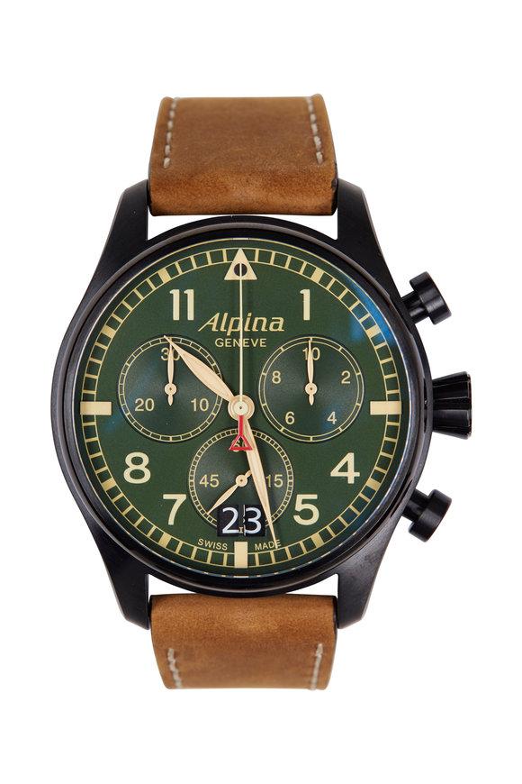 Alpina Startimer Pilot Military Chronograph, 44MM