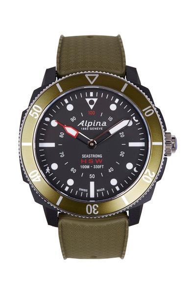 Alpina - Seastrong Green Horological Smartwatch, 44MM