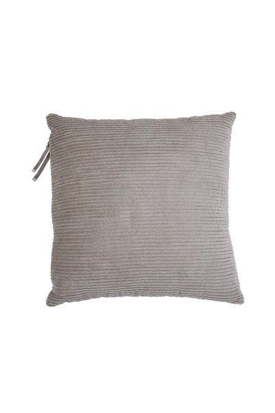 Brunello Cucinelli - Natural Corduroy Monili Detail Small Pillow
