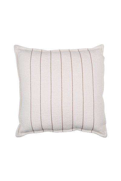 Brunello Cucinelli - Natural Monili Striped Small Pillow