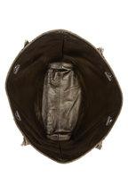 Brunello Cucinelli - Platinum Metallic Woven & Leather Reversible Tote