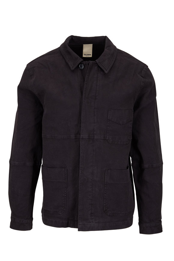 Baldwin Bowens Vintage Black Overshirt