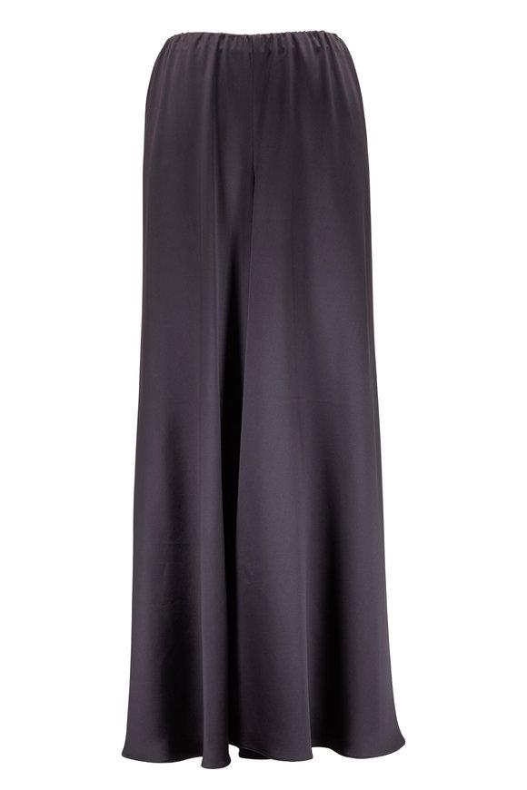Peter Cohen Gish Slate Gray Silk Pull-On Pant
