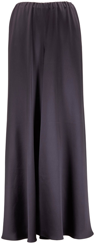 Peter Cohen Gish Slate Gray Silk Pull-On Pant