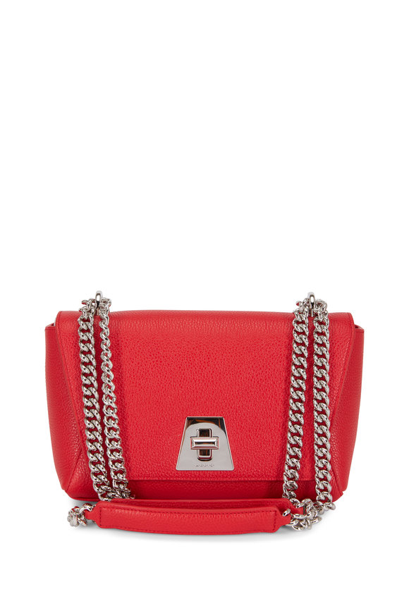 Akris Anouk Love Red Leather Small Daybag