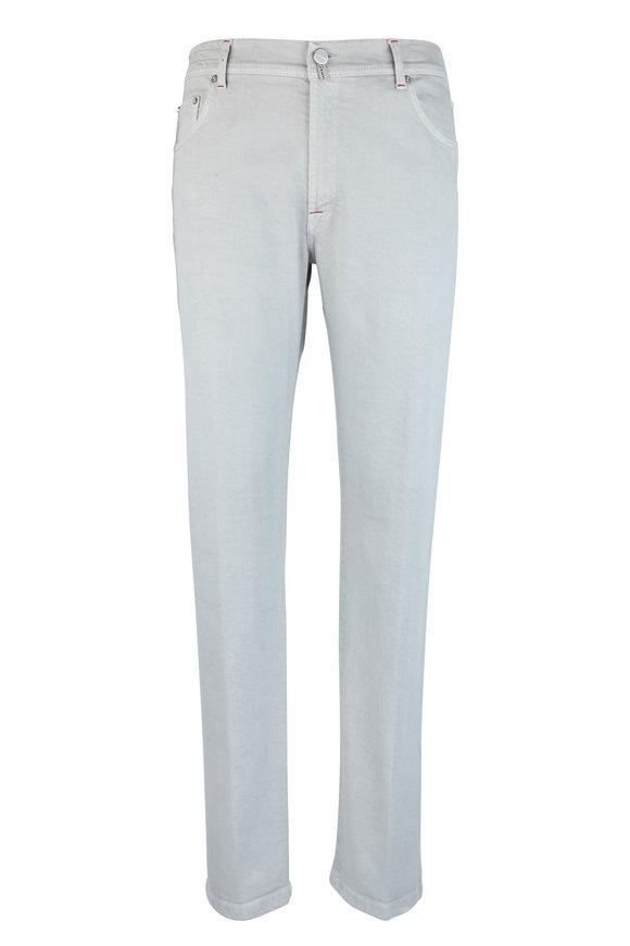 Kiton Stone Stretch Cotton Five Pocket Pant