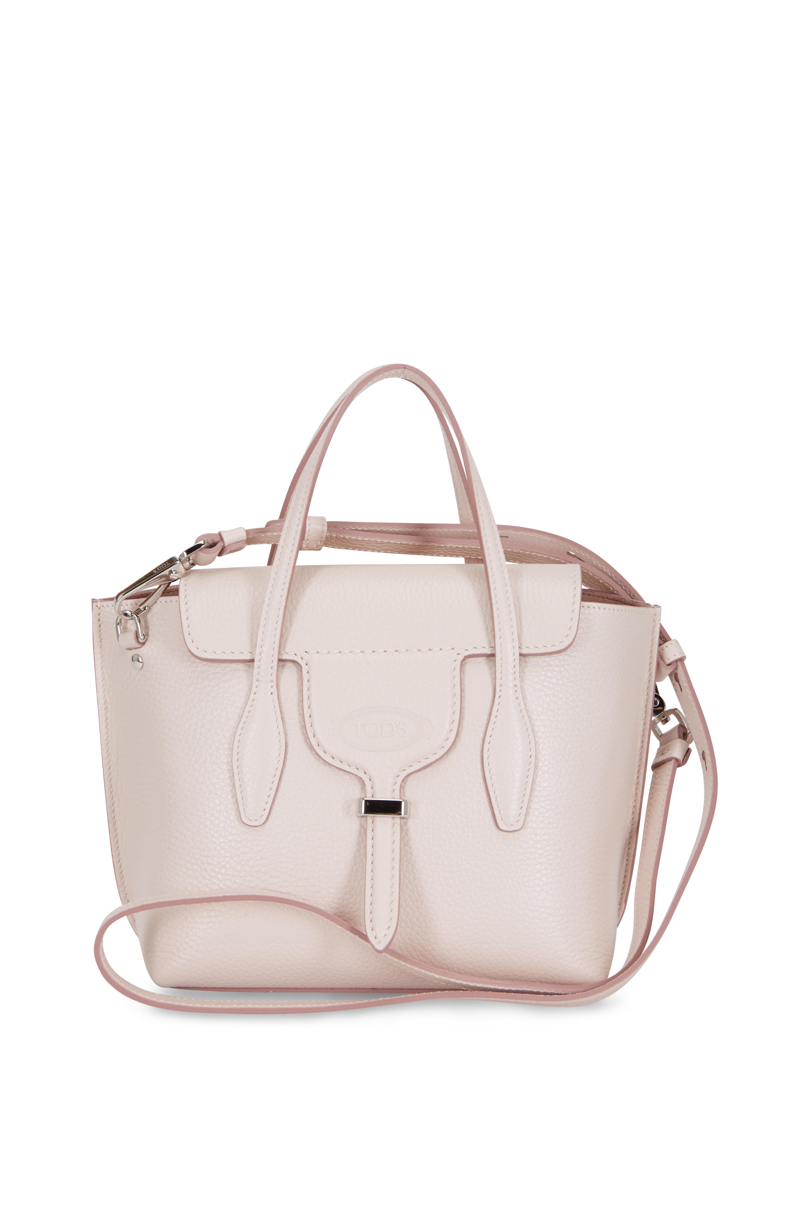 e67b41eaaf Tod's - New Joy Pink Pebbled Leather Mini Hobo Bag | Mitchell Stores