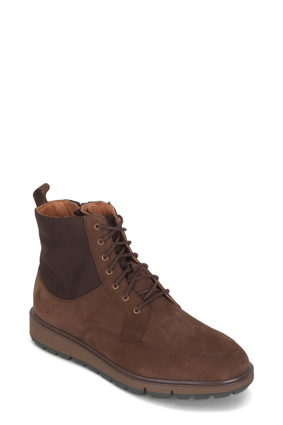 Swims Motion Brown Suede Country Boot