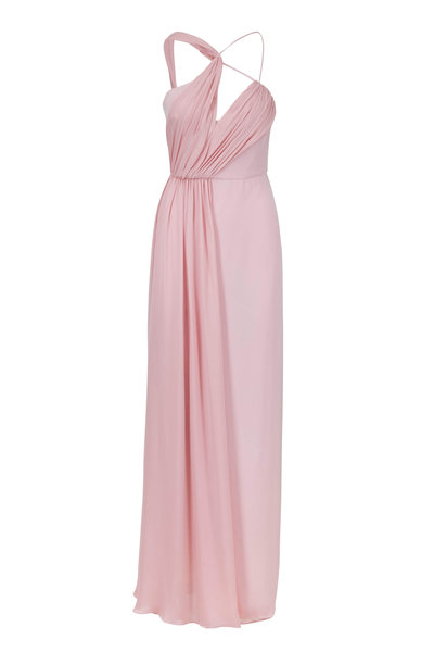 Cushnie - Sloane Peony One-Shoulder Cut Out Gown