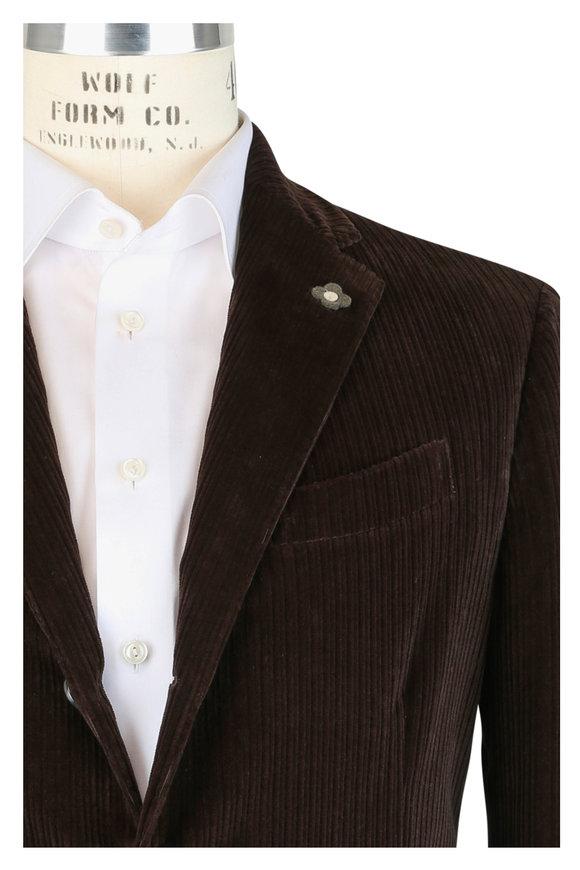 Lardini Brown Corduroy Sportcoat