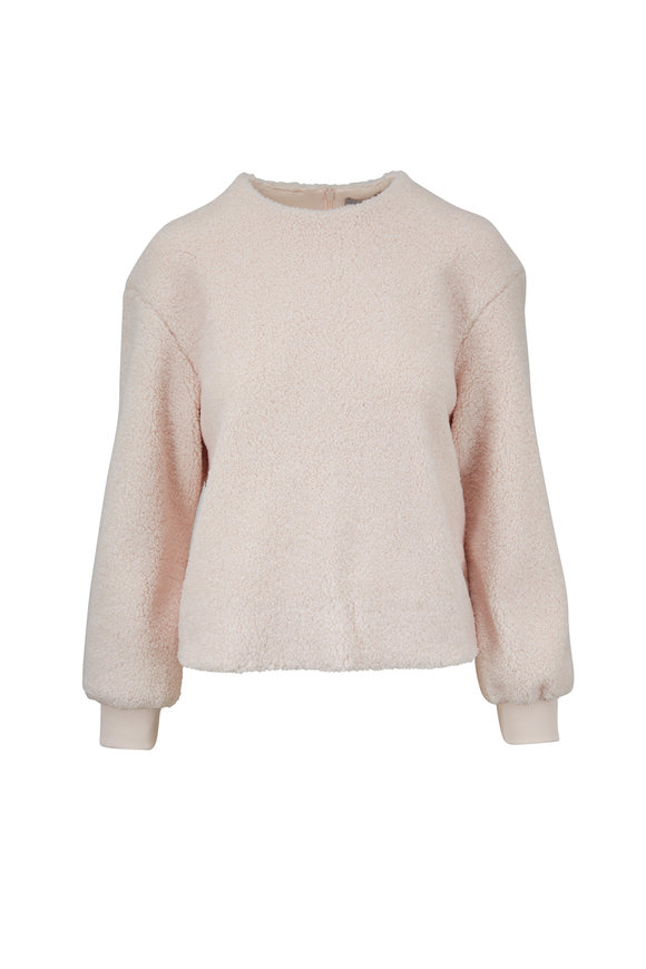 Vince Cozy Soft Pink Pullover