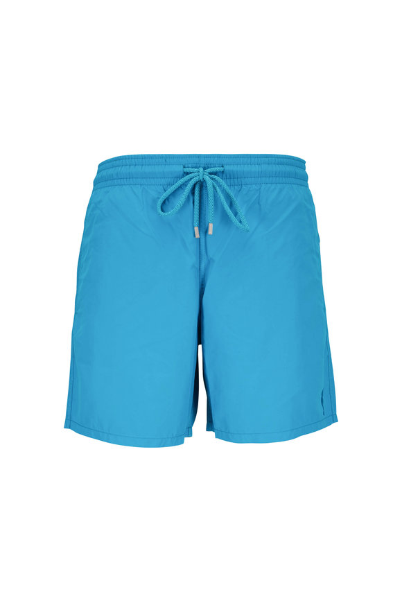 Vilebrequin Moorea Sea Life Water Reactive Swim Trunks