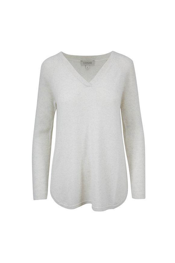 Kinross Easy Whisper Cashmere V-Neck Sweater