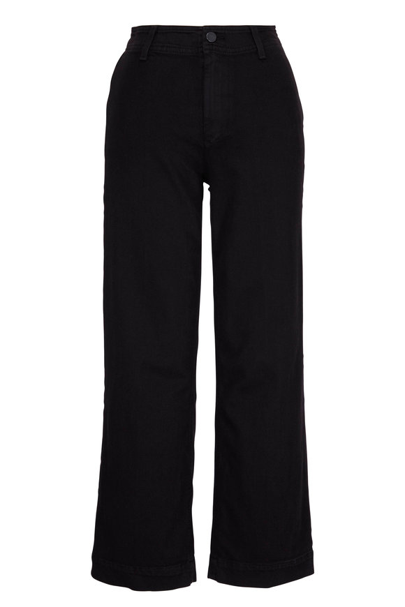 Paige Denim Nellie Black Culotte Jean