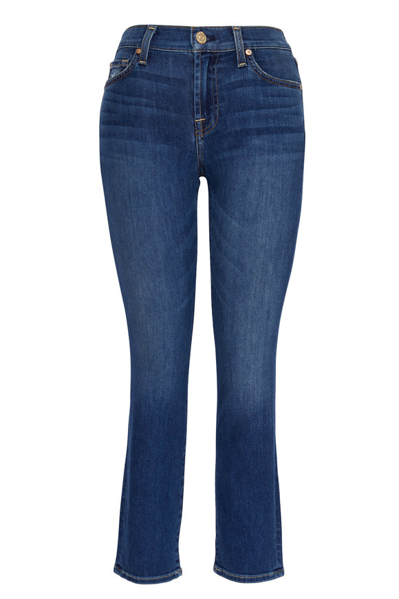 7 For All Mankind Roxanne Ankle Straight Leg Jean