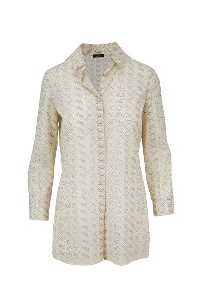 Akris - Paper Cotton Leporello Print Tunic