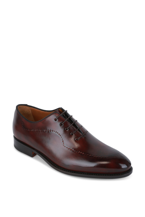 Bontoni Cherry Leather Dress Shoe