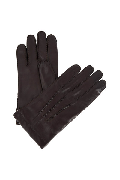 Portolano - Chocolate Nappa Leather Gloves