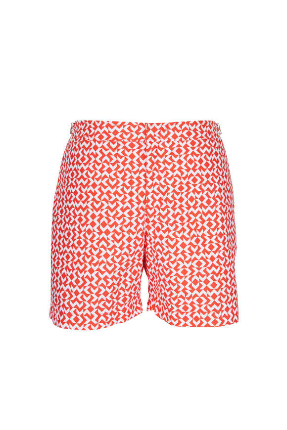 Orlebar Brown Bulldog Hacienda Red Swim Trunks