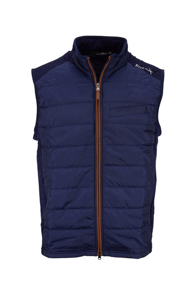 Polo Ralph Lauren - Cool Wool Navy Blue Puffer Vest